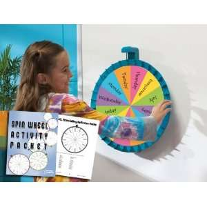 Jumbo Magnetic Spin Wheel & Activity Packet Office