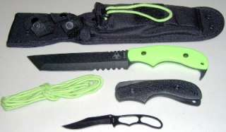 13 Famine Tanto Combat/Fighting Knife + Bonus Knife MOLLE
