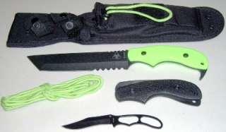 13 Famine Tanto Combat/Fighting Knife + Bonus Knife MOLLE