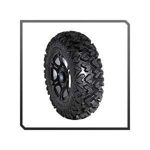 Polaris RZR   Sixr 14 Rim With Sedona Ripsaw Tire Kit Automotive