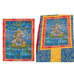 Tibetan Guru Rinpoche Thangka: Everything Else