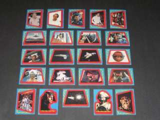 1979 BUCK ROGERS   COMPLETE 22 STICKER SET◆