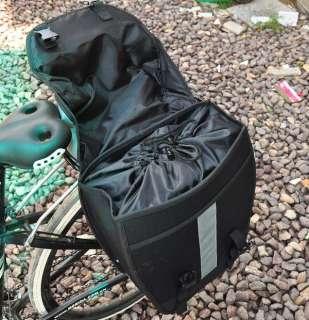 Cycling Bicycle Bag Bike rear seat bag pannier+Free Rain Cover