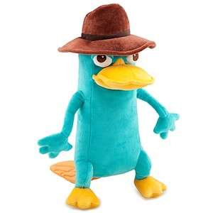PHINEAS & FERB PERRY AS AGENT P PLUSH 13