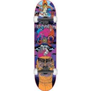 Baker Dollin Super Jack Complete Skateboard   8.0 w/Mini Logo Wheels