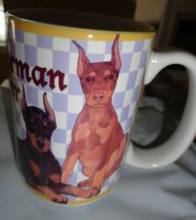 DOBERMAN PINSCHER DOG 15 OZ. COFFEE MUG