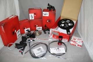 New 2012 Sram Red Black Edition 8 pcs Group Ceramic Carbon 1091R GXP