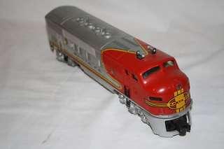 Lionel Post war Santa Fe 2353T 2353P 2531 2532 2533 2534 Aluminum