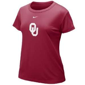 Nike Oklahoma Sooners Women?s Dri FIT T Shirt Sports