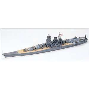 : Tamiya 1/700 IJN Super Dreadnought Battleship Yamato: Toys & Games