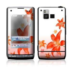 LG Dare VX9700 Skin Sticker Decal Cover   Flying Flowers