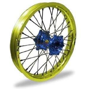 Pro Wheel Pro Wheel 2.15x19 MX Rear Wheel   Yellow Rim/Blue Hub