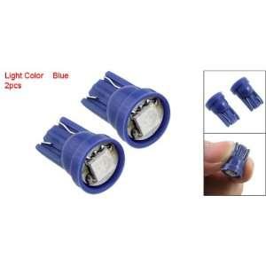 Side Dashboard Car Auto Bulb Wedge Blue LED Light Lamp: Automotive