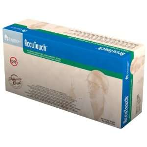Tillotson Accutouch Latex Exam Gloves, Extra Large, 100