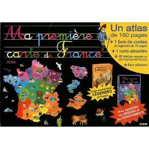 première carte de France (French Edition) (9782733818435): Michel