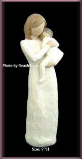 WILLOW TREE ANGELS CHILD OF MY HEART FIGURINE