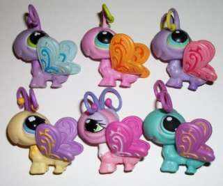 LOT~#621 1323 355 93 478 299 PINK PURPLE~Littlest Pet Shop O91