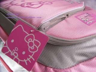 Pink Hello Kitty School Bag BackPack Book Bag New Tote