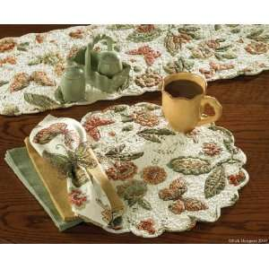 Country Cottage Quilted 36 Table Runner