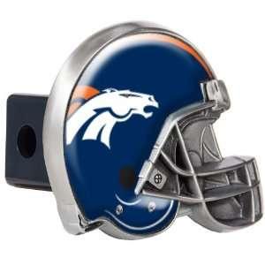 Denver Broncos Great American Metal Helmet Trailer Hitch Cover