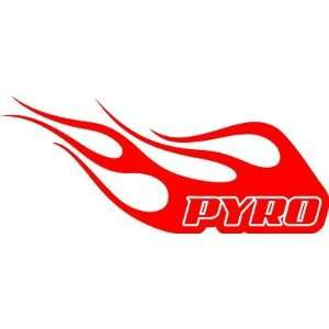 *PYRO FLAMES* Vinyl Decal,Wall, Car, Truck Everything