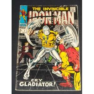 INVINCIBLE IRON MAN #7 VINTAGE SILVER AGE COMIC BOOK