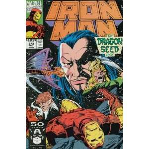 Iron Man (1st Series) #272: John Byrne, Paul Ryan: Books