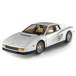 MIAMI VICE FERRARI TESTAROSSA Diecast Model in 118 Scale