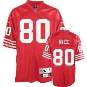 Jerry Rice San Francisco 49ers Stitched Jersey Size 52
