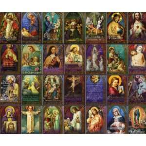 and More Holy Prayer Cards Including St. Michael the Archangel, Gerard