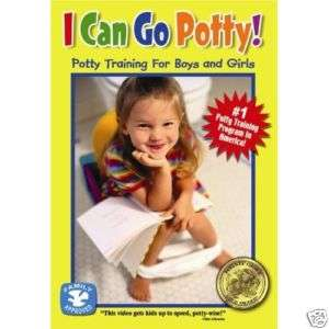 Can Go Potty! Potty Training for Boys and Girls DVD 092388050197