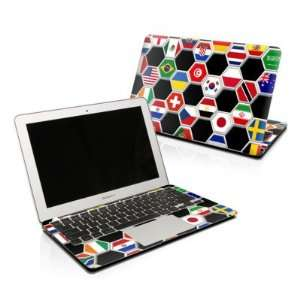 Soccer Flags Design Skin Decal Sticker for Apple MacBook PRO