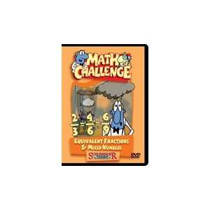 Math Challenge:Equivalent Fractions & Mixed Numbers DVD