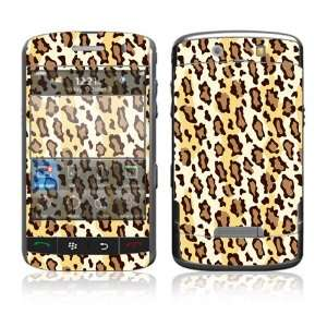 com Leopard Print Decorative Skin Decal Cover Sticker for BlackBerry
