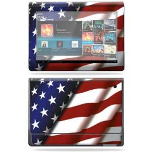 Vinyl Skin Decal Cover for Sony Tablet S American Pride Electronics