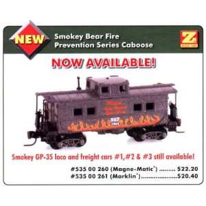 Smokey Bear Fire Prevention Caboose   MT Cplrs Toys & Games