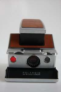 Working POLAROID SX 70 Land Camera Instant Camera Case,