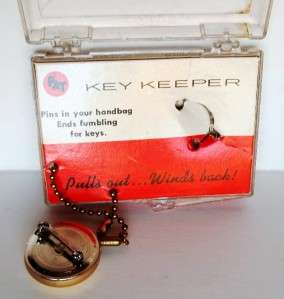 Key Keeper* NOS in Original Box+Card *Made in the USA* Works