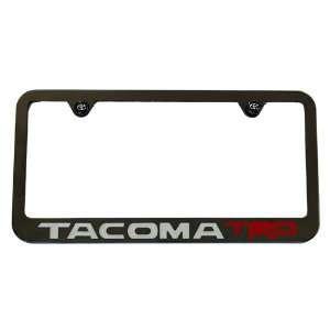 2005 Toyota Tacoma TRD License Plate Frame Black USA Made High End