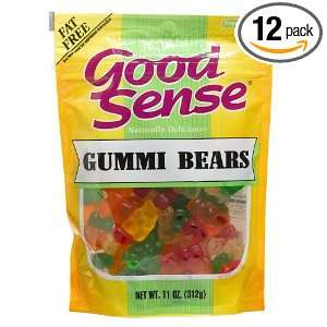 Good Sense Gummi Bears, 11 Ounce Bags Grocery & Gourmet Food