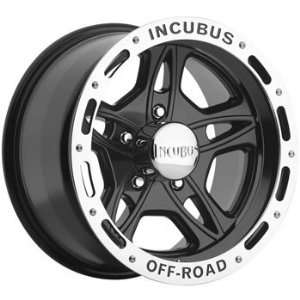 Incubus Off Road 15x8 Black Wheel / Rim 5x4.5 with a  27mm Offset and