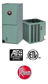Ton 13 Seer Rheem Heat Pump System   13PJL30A01   RHSLHM3017JA