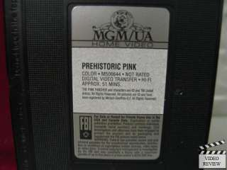 Pink Panther Cartoon Collection   Prehistoric Pink VHS 027616664433