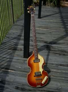 1963 HOFNER 500/1 Beatle Bass exact McCartney spec !