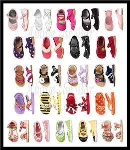 NWT Gymboree Girls Baby Toddler Shoes Sandals Flip Flops Clogs U Pick
