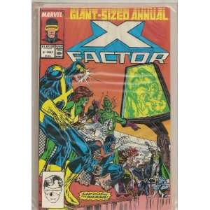 Factor 1993 2.95 (x factor 64 page annual, vol 1 1993) peter david