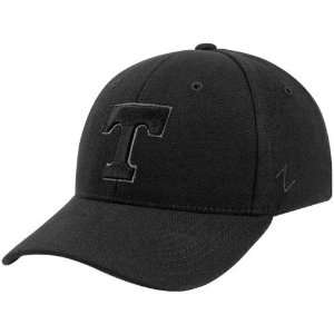 Tennessee Volunteers Black Fadeout Fitted Hat