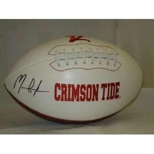 MARK INGRAM Autographed Auburn Crimson Tide Football   Autographed