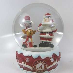 Alabama Crimson Tide 2011 NCAA Holiday Snow Globe