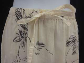 brown floral print flowy skirt size petite this skirt has an a line